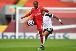 Naby Keita hefur komið við sögu í tíu leikjum með Liverpool á tímabilinu.