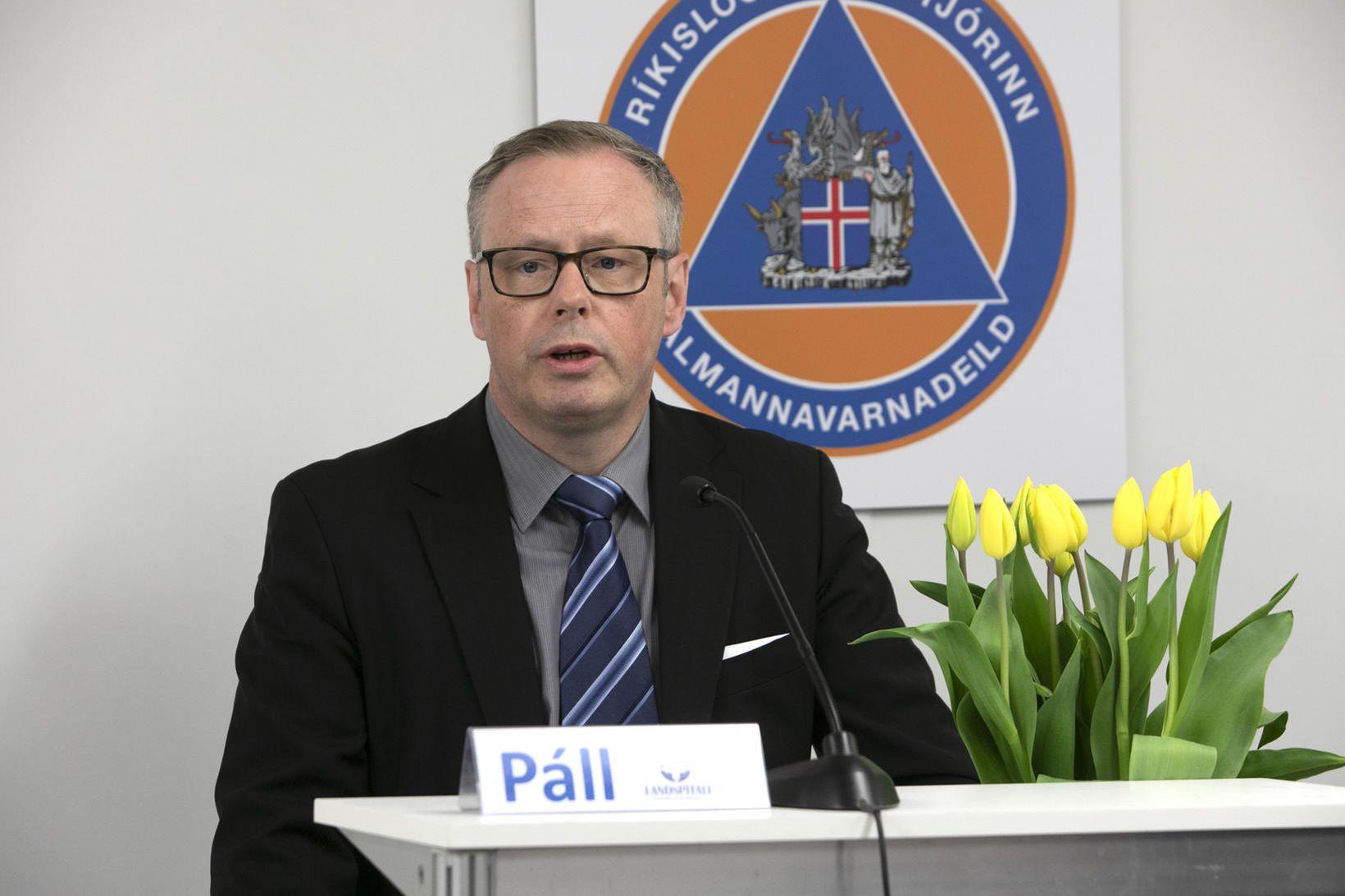 Páll Matthíasson forstjóri Landspítala, segir gjöfina sýna samstöðuna sem ríkir …