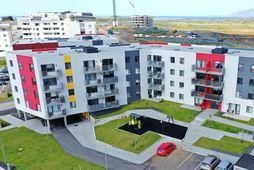 Hús Bjargs við Urðarbrunn í Reykjavík.