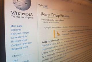 Ekki er hægt að skoða Wikipedia í Tyrklandi í dag nema með krókaleiðum.