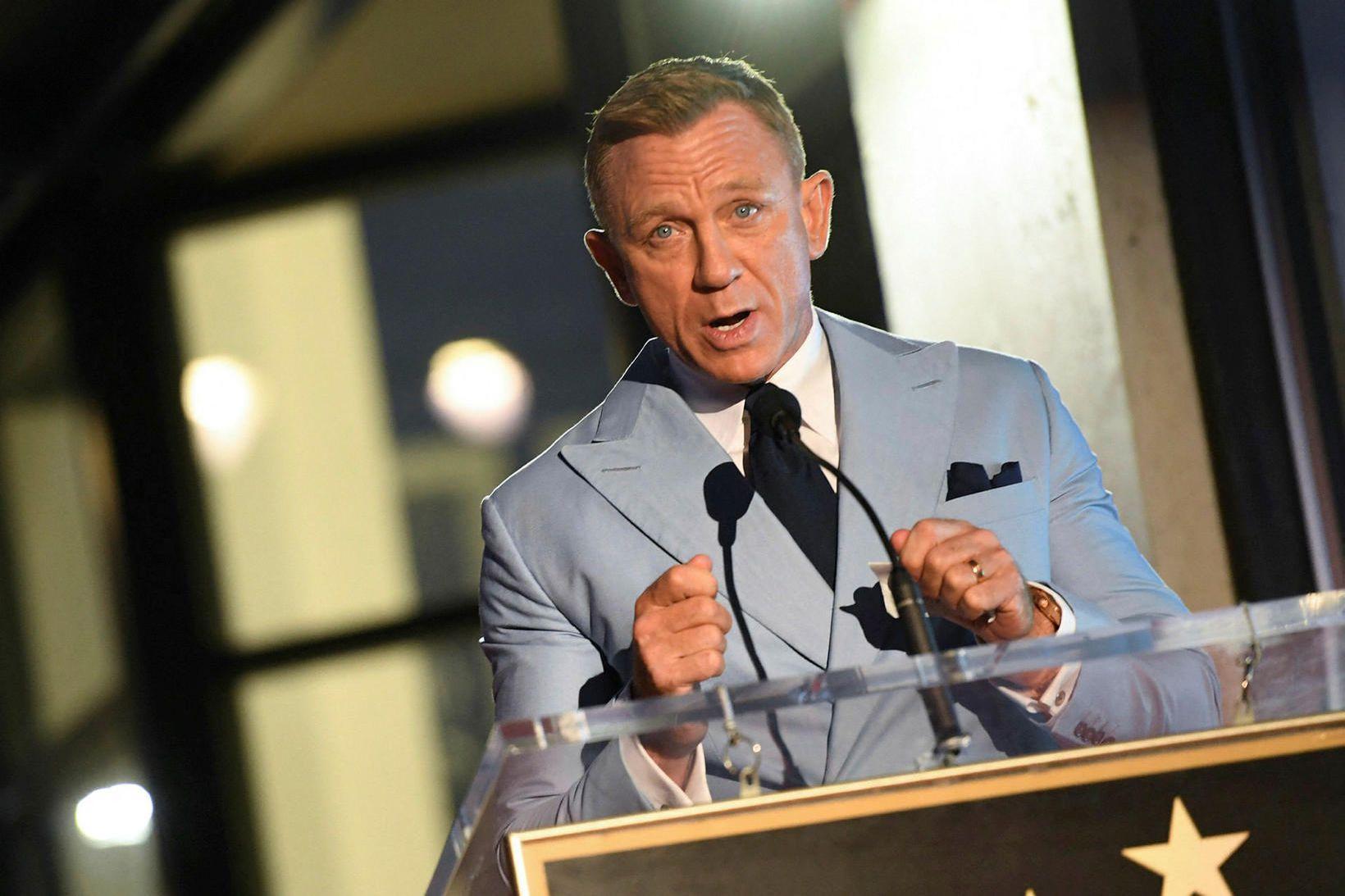 Breski leikarinn Daniel Craig.