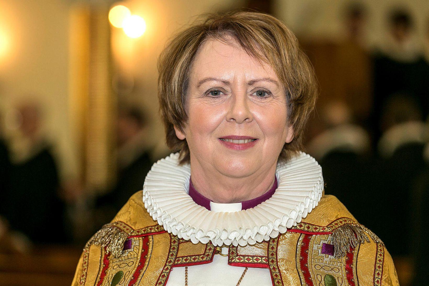 Agnes M. Sigurðardóttir biskup Íslands.