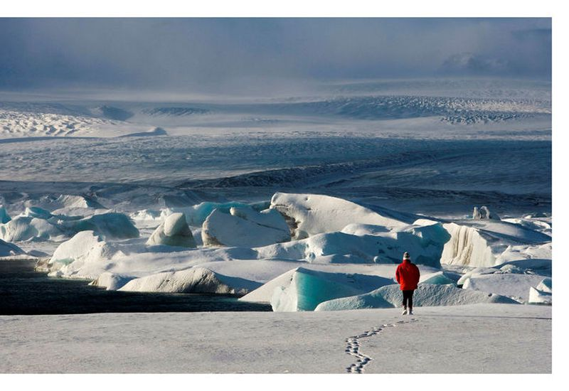 Glaciers in Iceland have retreated rapidly for more than two decades and glacier downwasting is one of the most obvious consequences of a warming climate in the country.