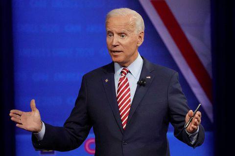 Joe Biden, fyrrverandi varaforseti Bandaríkjanna og faðir Hunters Biden.