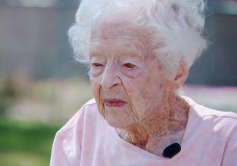 Hin 99 ára gamla Mary O'Neill er afar þakklát fyrir nágranna sinn hinn tveggja ára gamla Benjamin sem lítur á hana sem sinn besta vin.