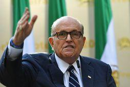 Rudy Giuliani, einkalögmaður Donalds Trump Bandaríkjaforseta.