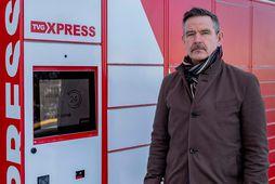 Hannes Alfreð Hannesson, forstöðumaður TVG-Xpress.