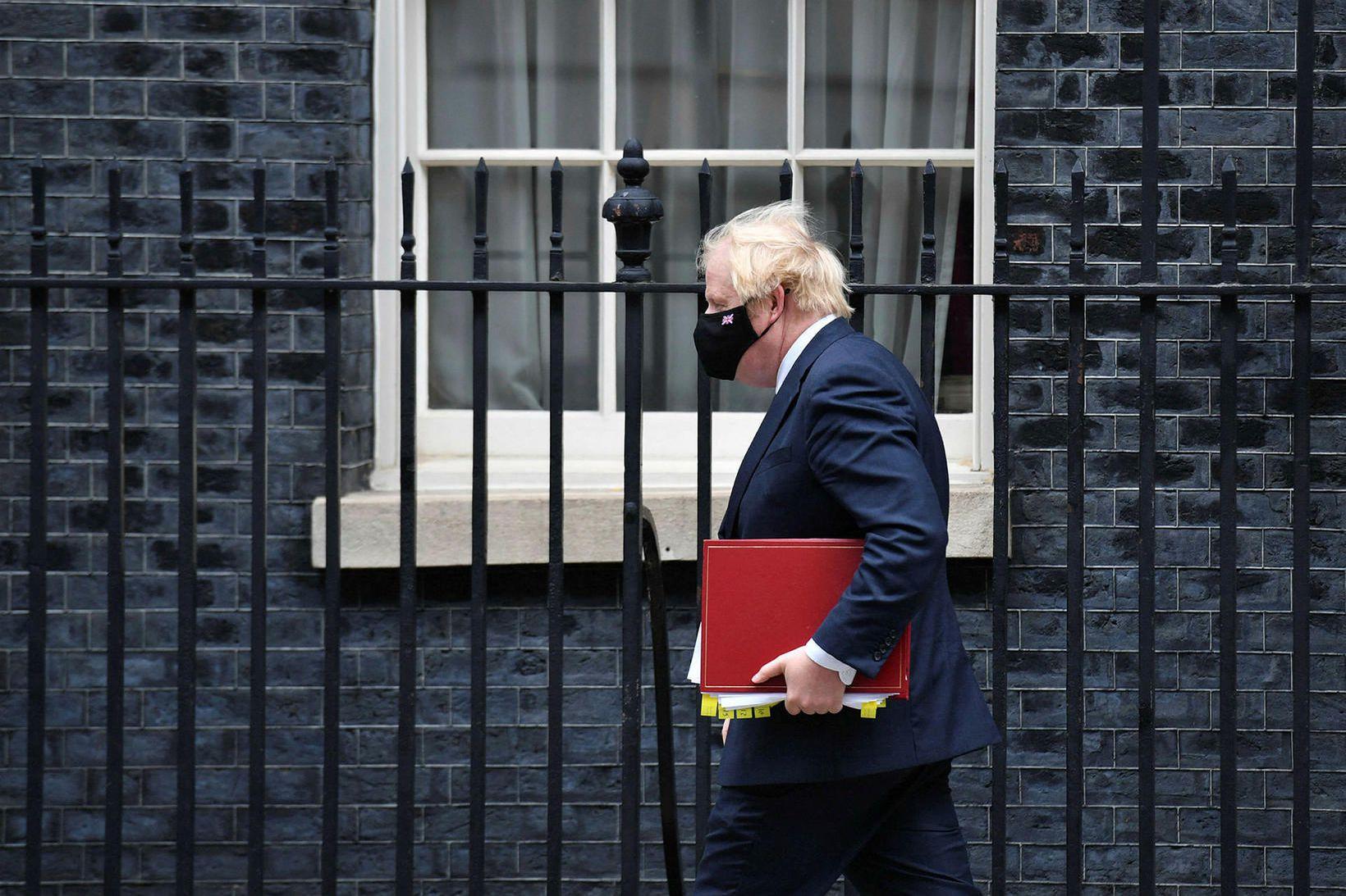 Boris Johnson, forsætisráðherra Bretlands.
