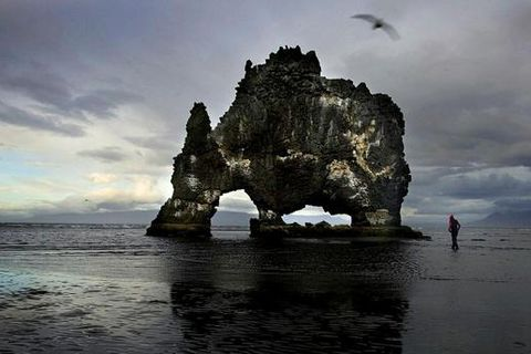 Hvítserkur is one of the best known natural pearls of the area.
