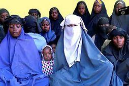 Myndband sem Boko Haram sendi frá sér í janúar á þessu ári sýnir a.m.k. 14 …