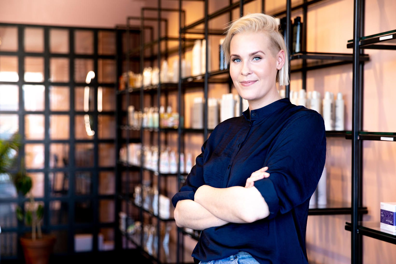 Karin Kristjana Hindborg, eigandi Nola.