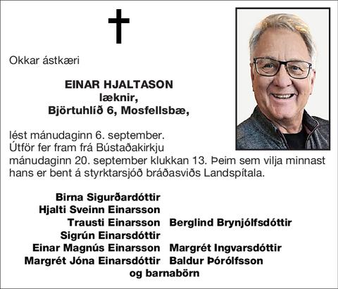 Einar Hjaltason