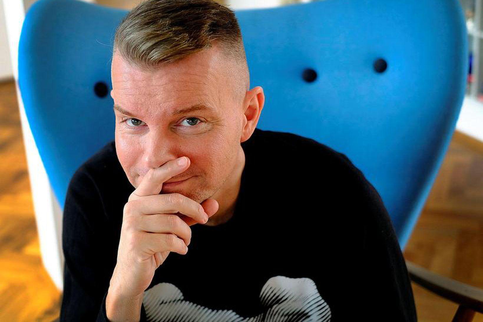 Páll Óskar Hjálmtýsson.