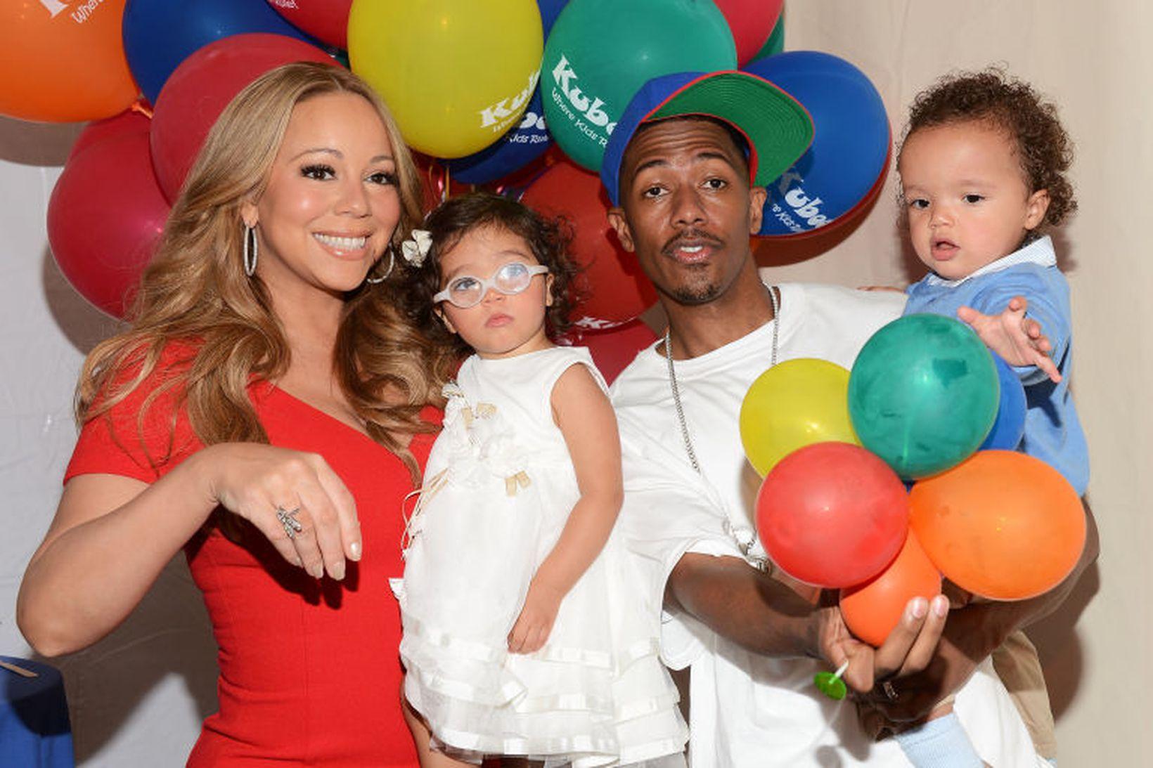 Söngdívan Mariah Carey og fyrrverandi eiginmaður hennar, Nick Cannon, eiga …