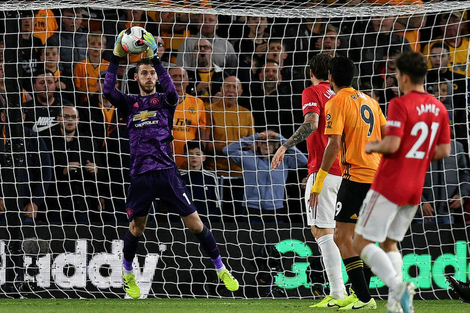 David de Gea hefur verið fyrirliði Manchester United í fyrstu …