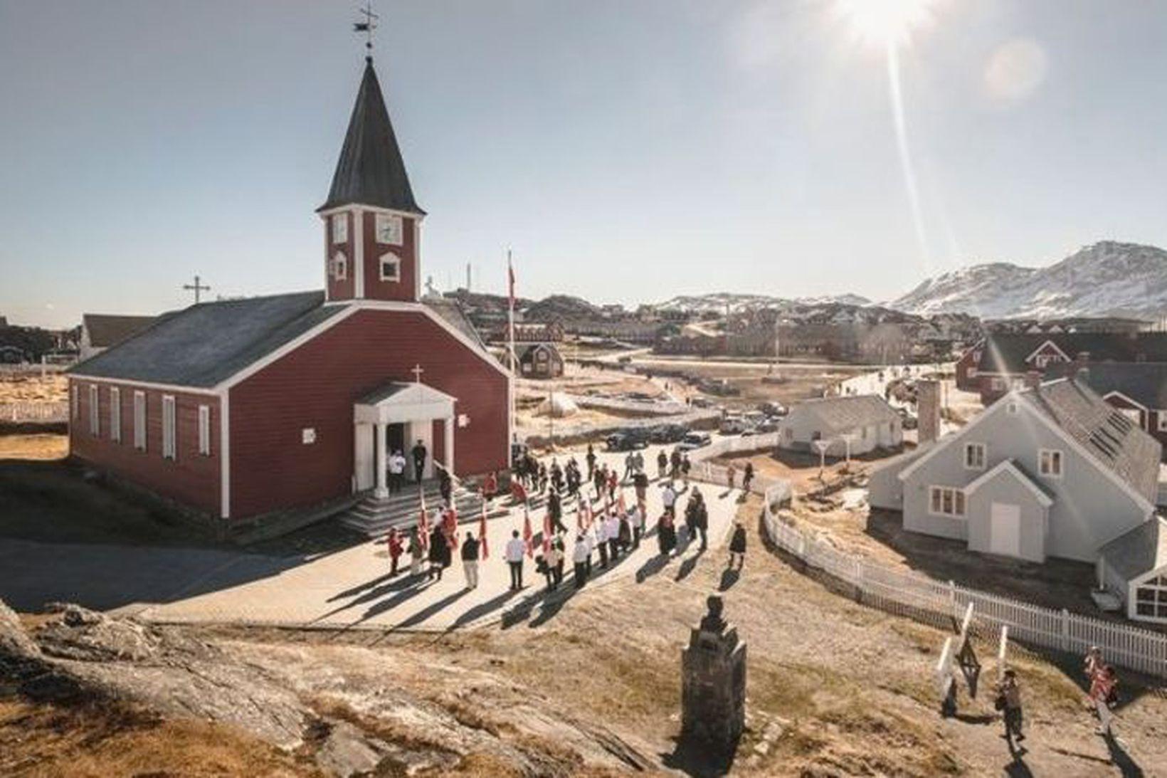 Nuuk er afskaplega spennandi og hefur upp á margt að …