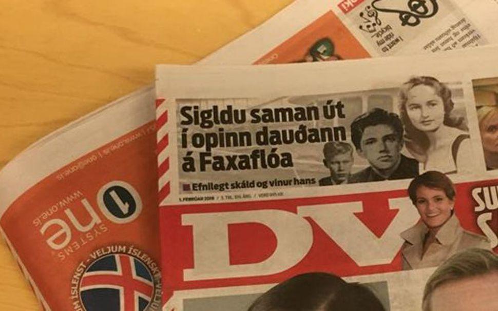 Frjáls fjölmiðlun rekur m.a. DV.