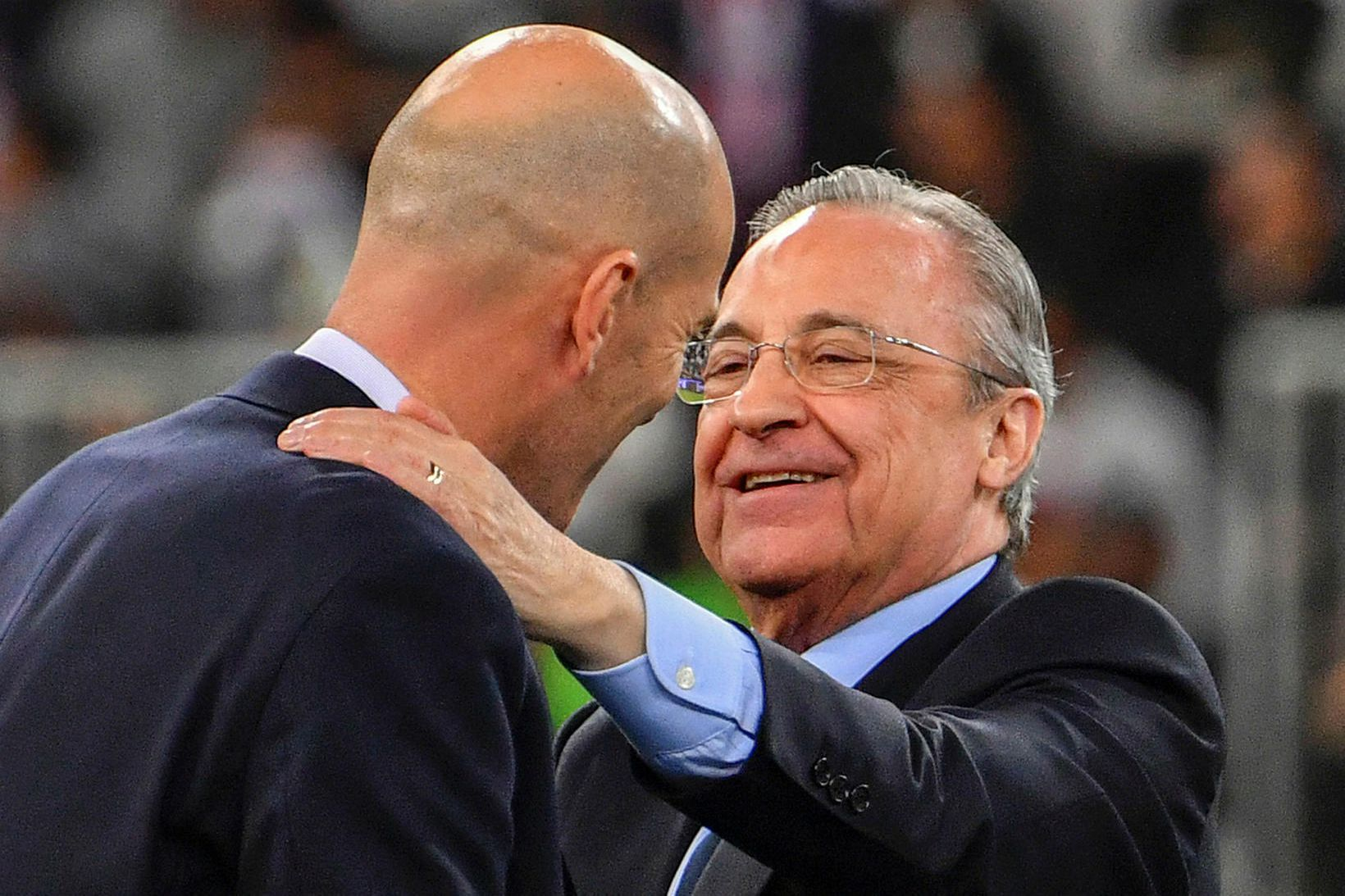 Florentino Peréz forseti Real Madrid fór fyrir ofurdeildinni.