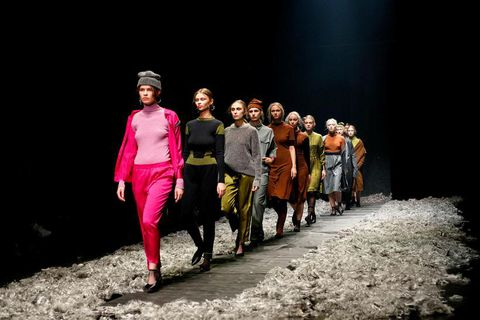 Reykjavik Fashion Festival took place in Harpa in the end of March.