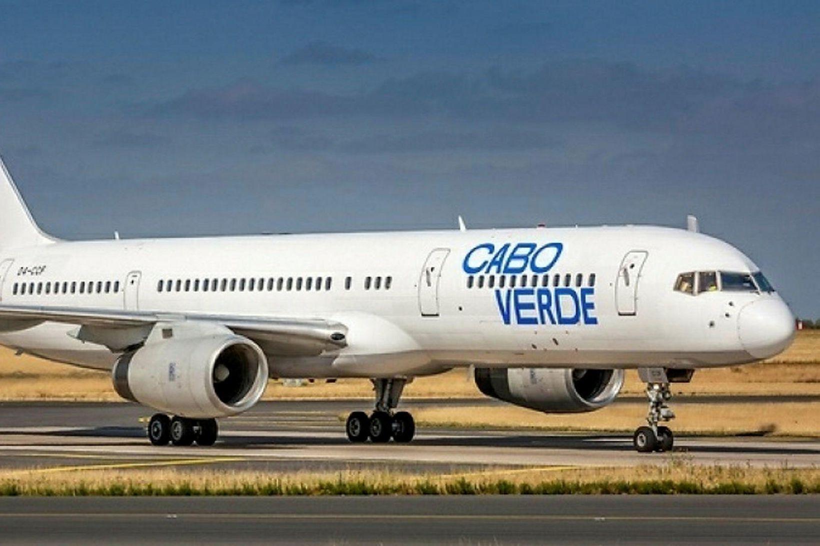 Flugvél Cabo Verde Airlines.