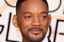 Will Smith var logandi hræddur þegar hann varð faðir í fyrsta sinn.