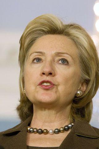 Hillary Clinton, utanríkisráðherra Bandaríkjanna.