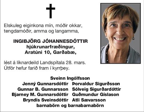 Ingibjörg Jóhannesdóttir