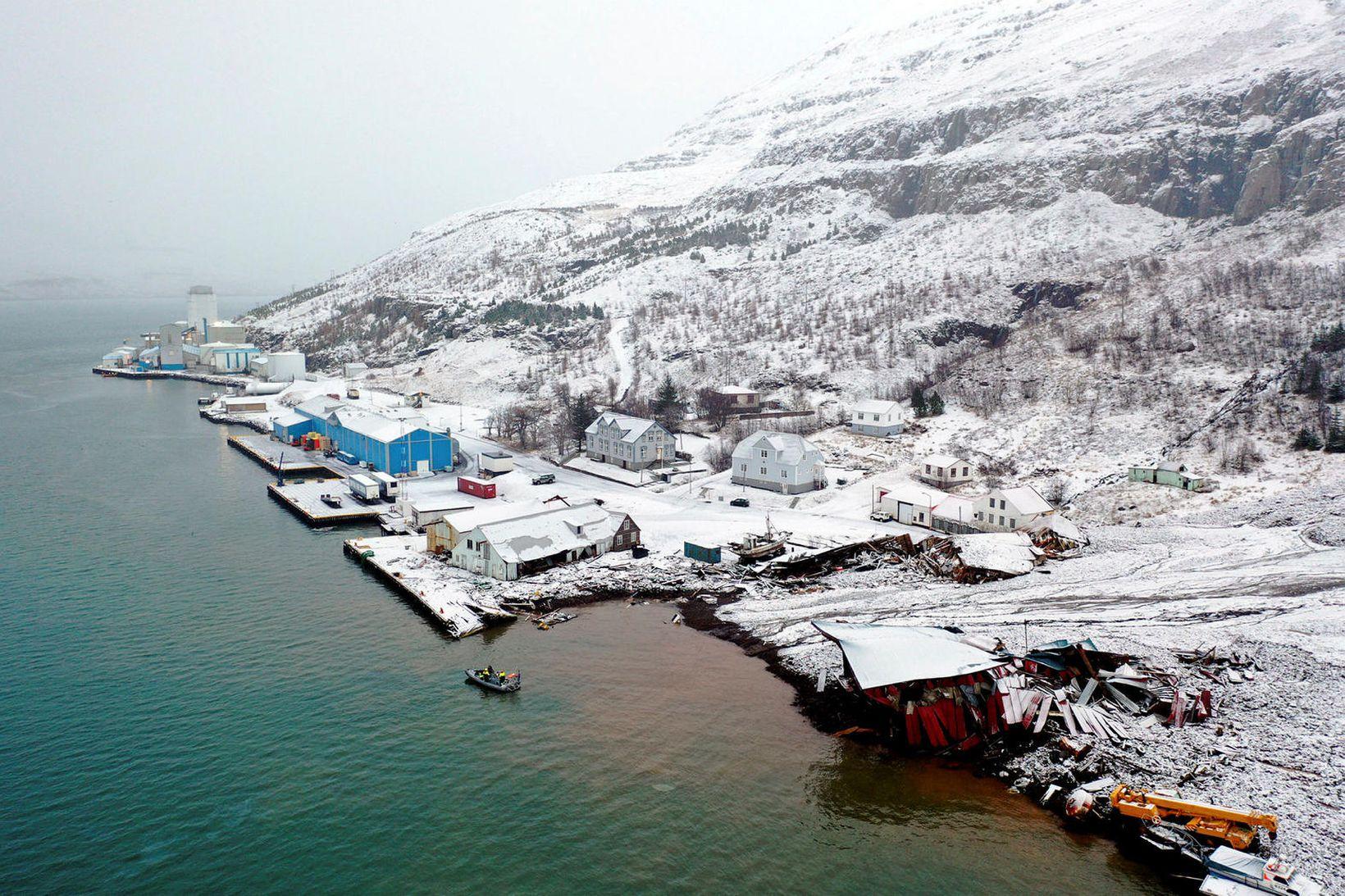 Seyðisfjörður.