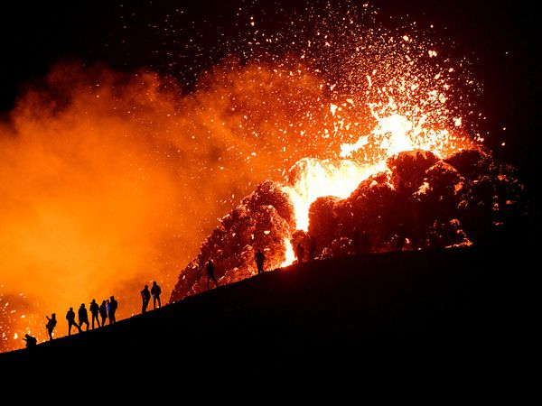 The eruption at Fagradalsfjall has been very tourist-friendly, being only a short drive from the capital.