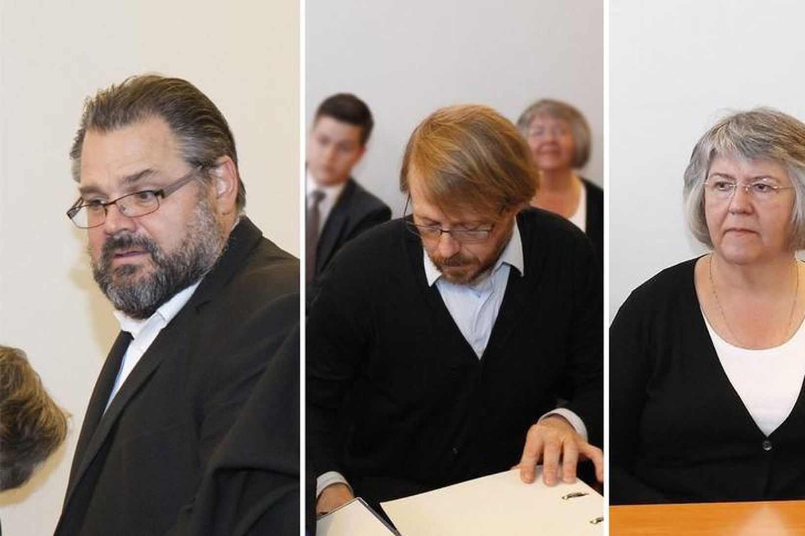 Sigurjón Árnason, fyrrum bankastjóri Landsbankans, Steinþór Gunnarsson, fyrrum forstöðumaður verðbréfaviðskipta …