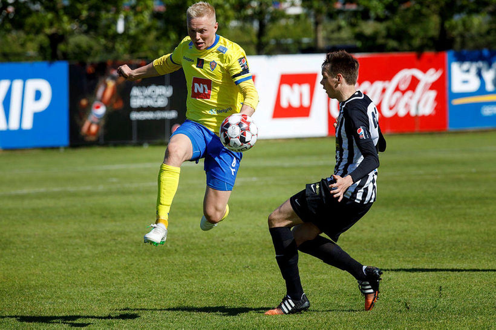 Daníel Hafsteinsson í leik með KA gegn KR.