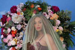 Beyoncé tilkynnti um tvíbura með eftirminnilegum myndum.