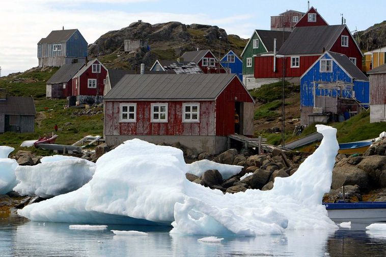 The West Nordic countries are comprised of Greenland (pictured), Iceland, and the Faroe Islands.