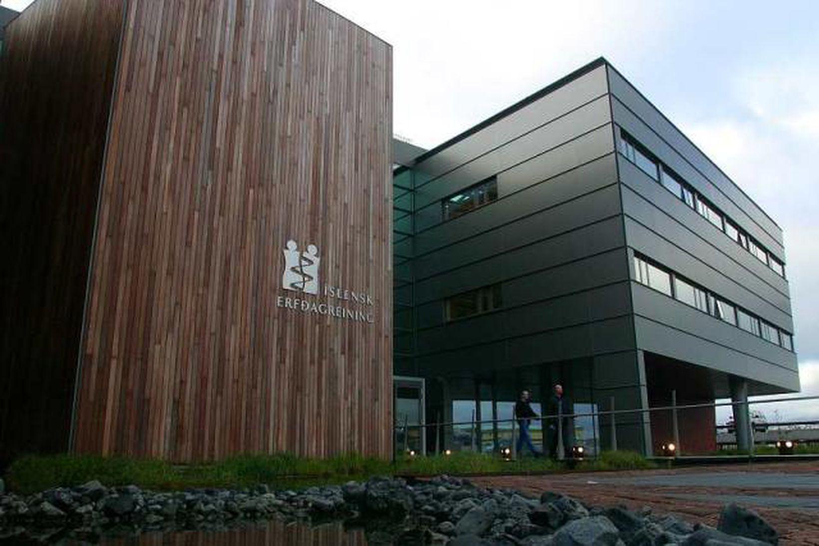 Höfuðstöðvar deCODE í Vatnsmýri.