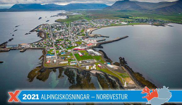Um 12% búin að kjósa í Norðvesturkjördæmi