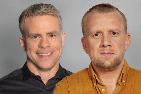 Sigmar Guðmundsson og Helgi Seljan. Jón Baldvin Hannibalsson hefur stefnt Sigmari en ekki Helga eftir ...