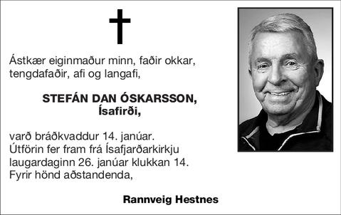 Stefán Dan Óskarsson,