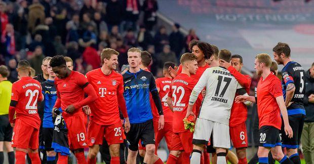 Samúel Kári Friðjónsson lék sinn fyrsta leik í þýsku 1. deildinni á dögunum gegn Bayern …