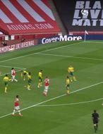 Arsenal fór illa með botnliðið (myndskeið)