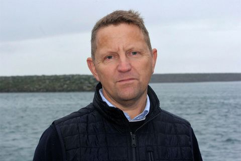 Gunnþór Ingason, managing director of Síldarvinnslan.