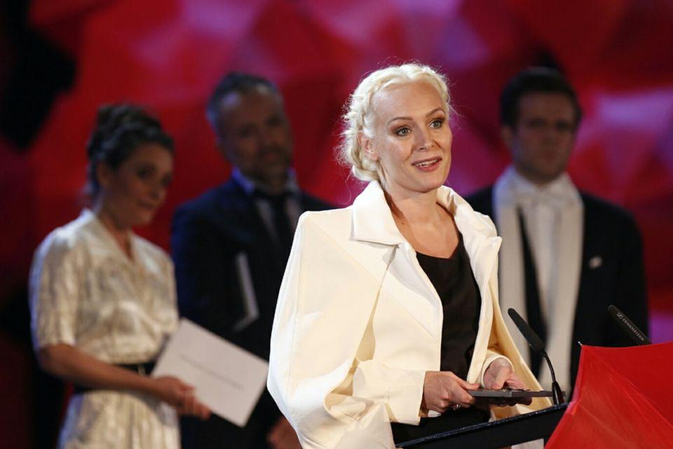 Nanna Kristín Magnúsdóttir, leikkona ársins 2014 í aukahlutverki fyrir Óskasteina.