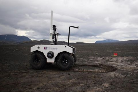 Mars Rover Tested in Iceland: Video