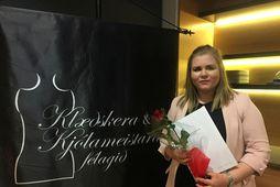 Elísabet Soffía Bender er klæðskeri og fatahönnuður.