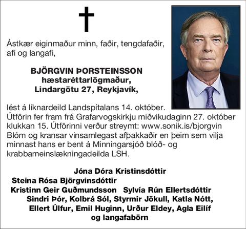 Björgvin Þorsteinsson