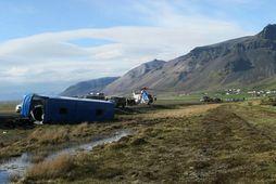 Rútuslysið við Öræfi .