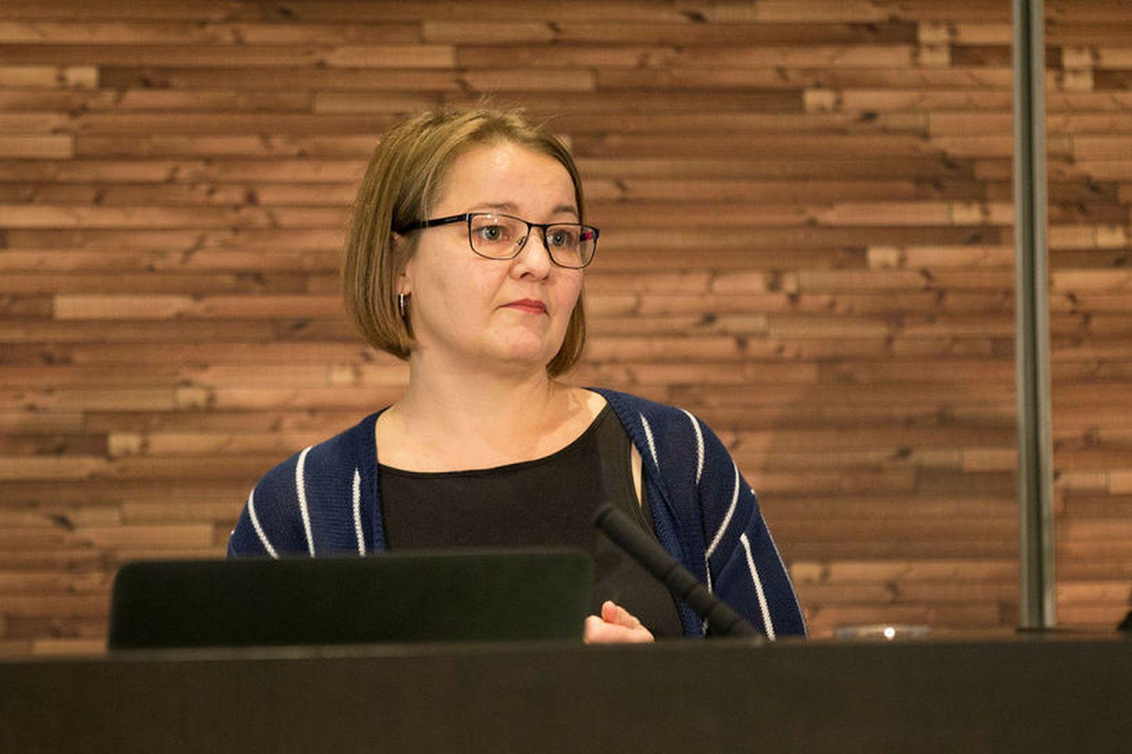 Drífa Snædal er framkvæmdastjóri Starfsgreinasambandsins.