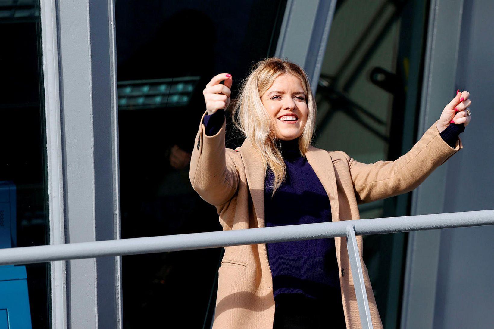 Áslaug Arna Sigurbjörnsdóttir dómsmálaráðherra er gestur Sölva Tryggvasonar.