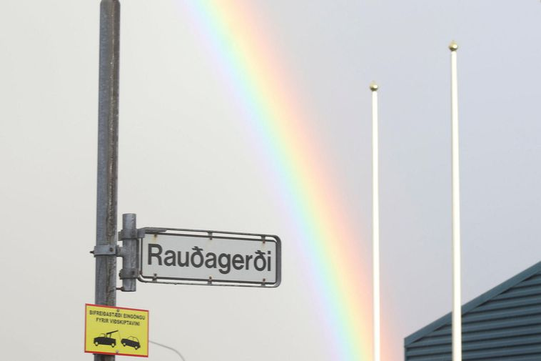 The name of the street where the crime was committed is Rauðagerði.