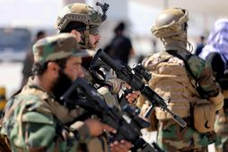 Talíbanar í Afganistan.