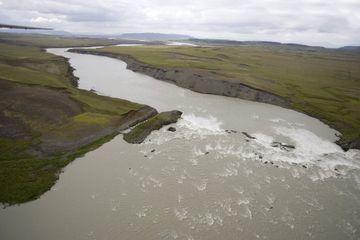 Búðafoss í Þjórsá.